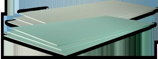 RIGIPS BAUPLATTE RB 12,5 weiß/grün