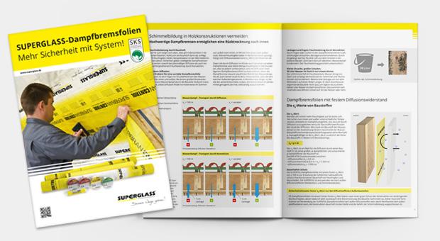 SUPERGLASS Dampfbremsfolien Kompendium